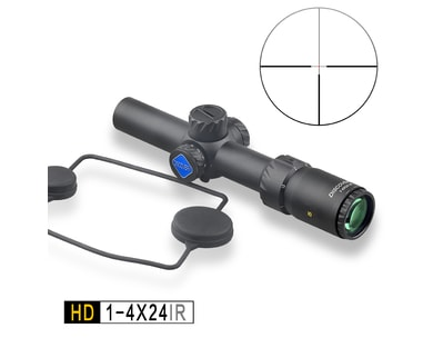 Hodinky Puškohled Discovery HD 1-4x24IR