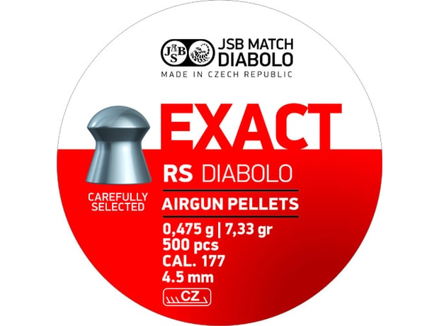 Diabolky JSB Exact RS 4,52mm 500ks