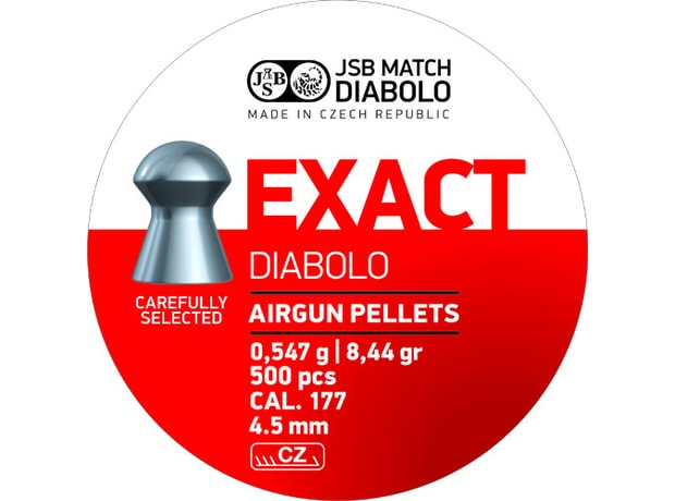 Diabolky JSB Exact 4,52mm 500ks