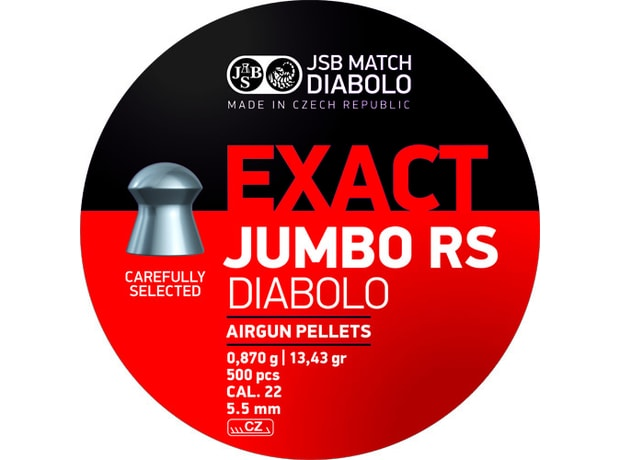 Diabolky JSB Exact Jumbo RS 5,52mm 250ks