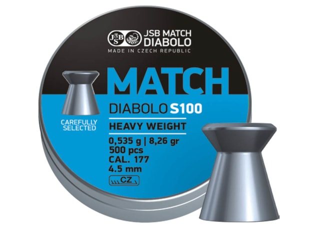 Diabolky JSB Match S100 4,50mm 500ks