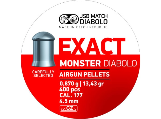 Diabolky JSB Exact Monster 4,52mm 400ks